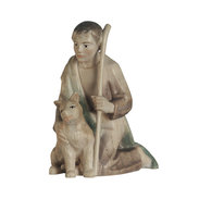 Shepherd with dog  -  Leonie crib