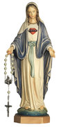 Our Lady of Grace with rosary