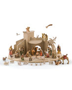 Set 38 pieces with Joseph 3H + stable