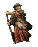Shepherd with walking stick