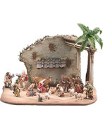 Nazarene Nativity  -  Lepi