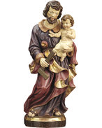St. Joseph with child and square