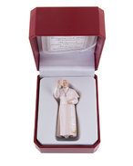 Pope Francis with case