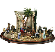 Oriental Nativity  -  Lepi Nativity figures