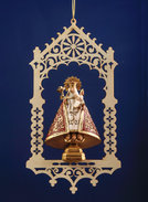 Virgin of Cavadonga in niche