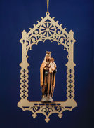 Virgin of the Carmel's mon.in niche