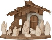 Morgenstern Nativity with Family Stable 12 figures