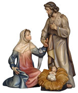 Holy Family   -  Original Salcher crib