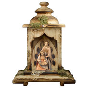 Nativity The Hope  -  2 Pieces + Lantern stable with light