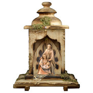 Nativity The Hope  -  3 Pieces + Lantern stable with light