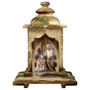 Nativity Comet  -  3 Pieces + Lantern stable with light