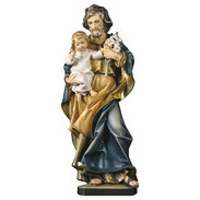 St. Joseph with child and lily + Case Exclusive