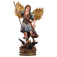 St. Michael Archangel with scales