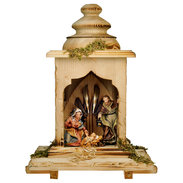 UL Ulrich Nativity Set  -  5 Pieces  -  With light