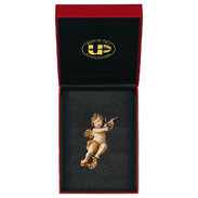 Cherub with violine with gold sting + Case Exclusive