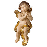 Cherub praying  -  Lime carved