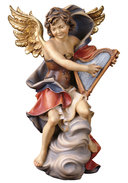 Angel on cloud with harp