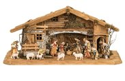 Royal Nativity Composition 16 figures